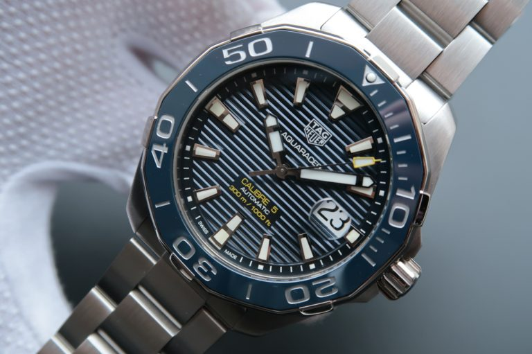 Replica Tag Heuer Aquaracer Calibre 5 WAY201B.BA0927